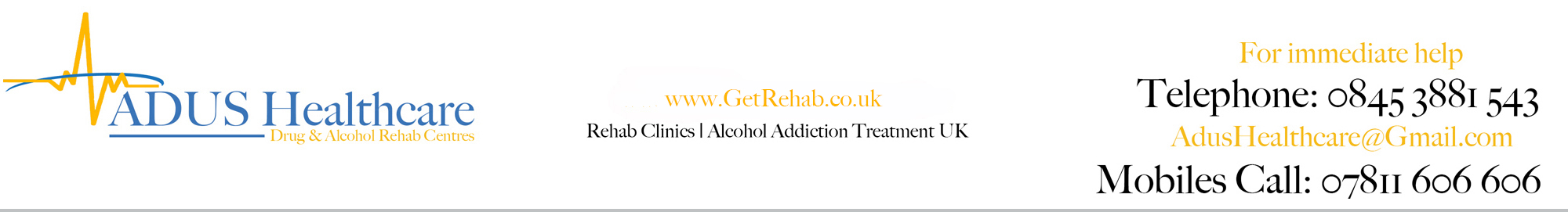Get Rehab from addiction